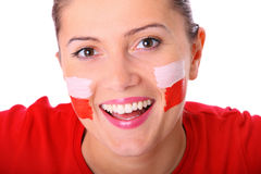 Happy Polish girl Royalty Free Stock Photos