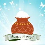 Happy pongal celebration Stock Images