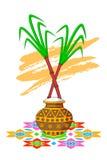 Happy Pongal Celebration Stock Photo