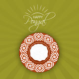 Happy Pongal festival celebration with traditional pot. Stock Images