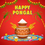 Happy Pongal Stock Photography