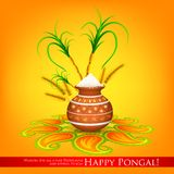 Happy Pongal Royalty Free Stock Photos