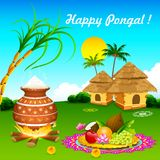 Happy Pongal Stock Image