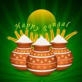 Happy Pongal Stock Photography