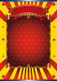 Happy poster circus Royalty Free Stock Photo