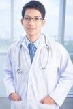 Happy practitioner Stock Image
