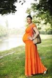 Happy pregnancy Stock Image