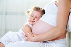 Happy pregnancy Stock Photography