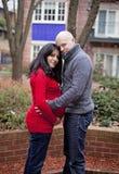 Happy Pregnant couple Stock Image