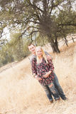 Happy Pregnant Wife With Husband Royalty Free Stock Images