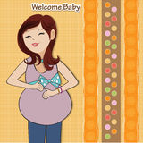 Happy pregnant woman Royalty Free Stock Photos