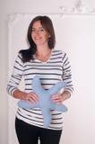 Happy Pregnant Woman Stock Photos