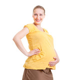 Happy pregnant woman Stock Image