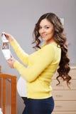 Happy pregnant woman Stock Image