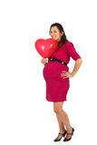 Happy pregnat woman Royalty Free Stock Photo