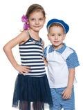 Happy preschool children Royalty Free Stock Photos