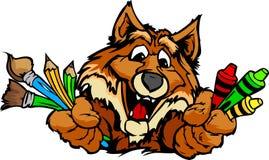 Cartoon Image Of Art Supplies Royalty Free Stock Photos - Image ...