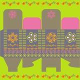 Happy present box Stock Image