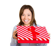Happy present Stock Image