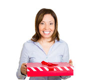 Happy present Stock Photo
