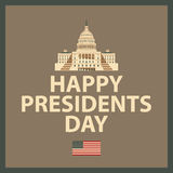 Happy President Day Royalty Free Stock Images