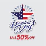 Happy President`s Day stock illustration