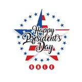 Happy President`s Day stock illustration