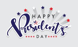 Happy President`s Day vector illustration