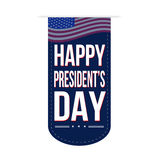 Happy Presidents Day banner design Royalty Free Stock Images