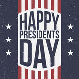 Happy Presidents Day patriotic Background Royalty Free Stock Images