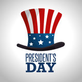 Happy presidents day poster Stock Photos