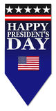 Happy Presidents day Stock Images