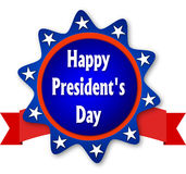 Happy Presidents day. On white background Royalty Free Stock Images
