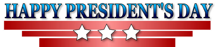 Happy Presidents day Royalty Free Stock Images