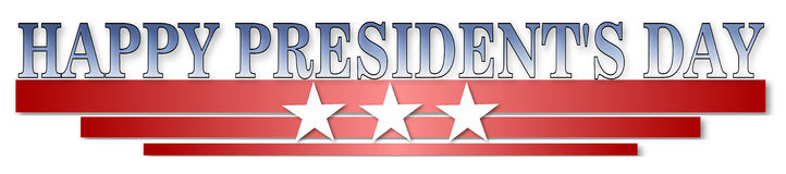 Happy Presidents day Royalty Free Stock Photography