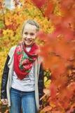 Happy preteen girl Stock Image
