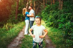 Free Happy Pretty Family Have Fun Outdoor Royalty Free Stock Photography - 125316197