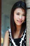 Happy, pretty girl with braces Stock Photography