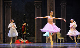 A happy princess Clara-The Ballet  Nutcracker Stock Photos