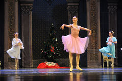 A happy princess Clara-The Ballet  Nutcracker Stock Images