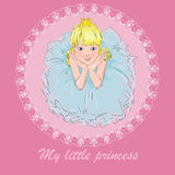 Happy princess Royalty Free Stock Images