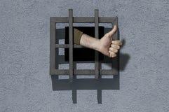 Happy Prisoner Stock Photo