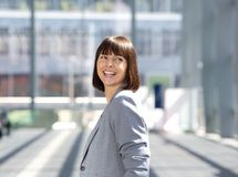 Happy professional business woman Royalty Free Stock Image