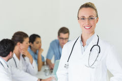 Happy professional doctor Royalty Free Stock Photography