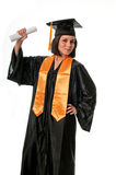 Happy and proud graduate Royalty Free Stock Photos