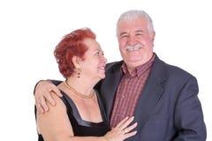 Happy and Proud Senior Couple Stock Photography