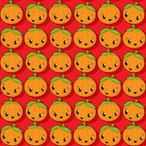 Happy pumkin icons Royalty Free Stock Photography