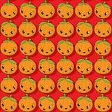 Happy pumkin icons Royalty Free Stock Photography