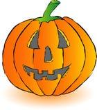Happy pumpkin Stock Images