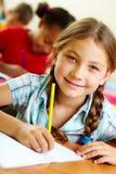 Happy pupil Royalty Free Stock Photos